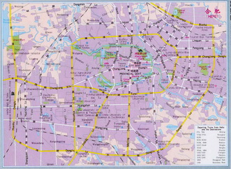 Click to see the map of Hefei city